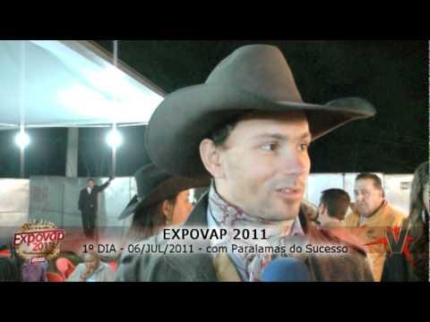 Paulo Krimer, Rafael Vilella e Jefferson Tadeu Barros falam ao ValeFlash da Expovap 2011