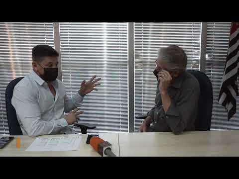 Entrevista com o prefeito Isael Domingues.